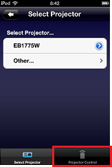 iProjection-Setup-TapRemote
